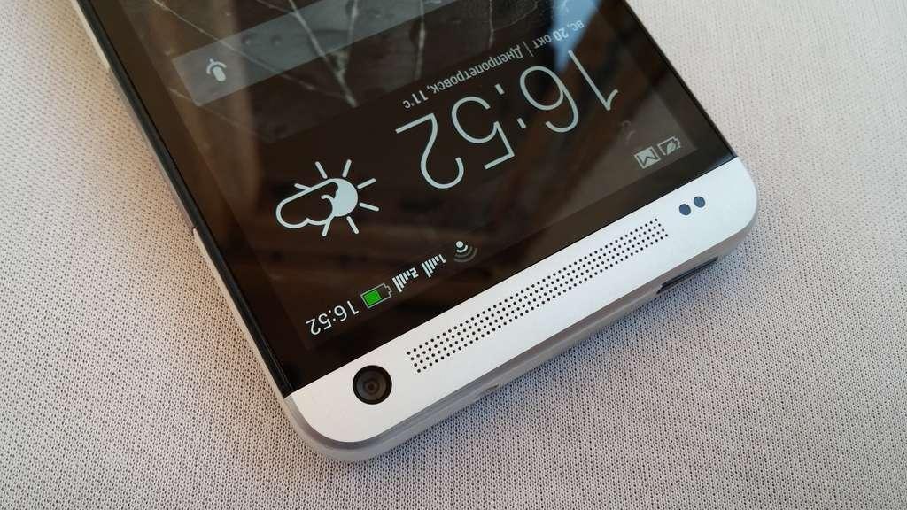HTC One Dual SIM фронтальная камера