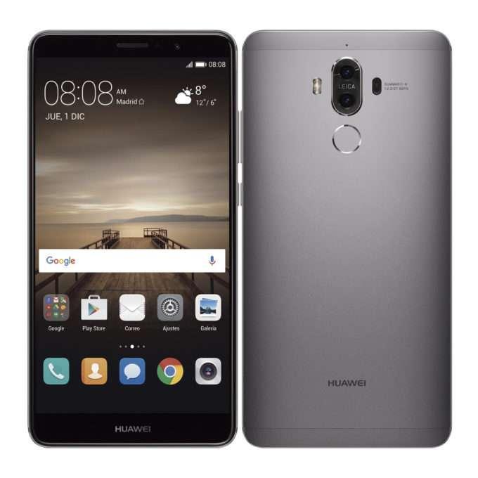 Huawei Mate 9 внешний вид