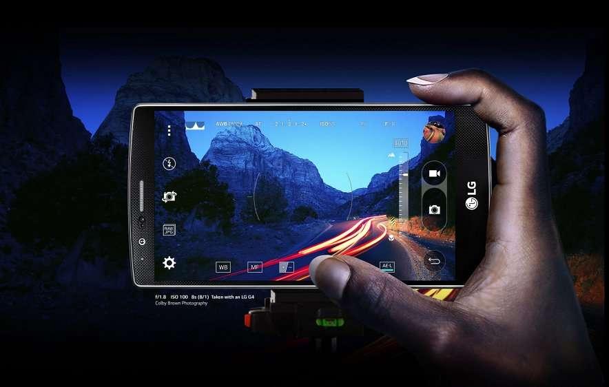 LG G4 пример фото