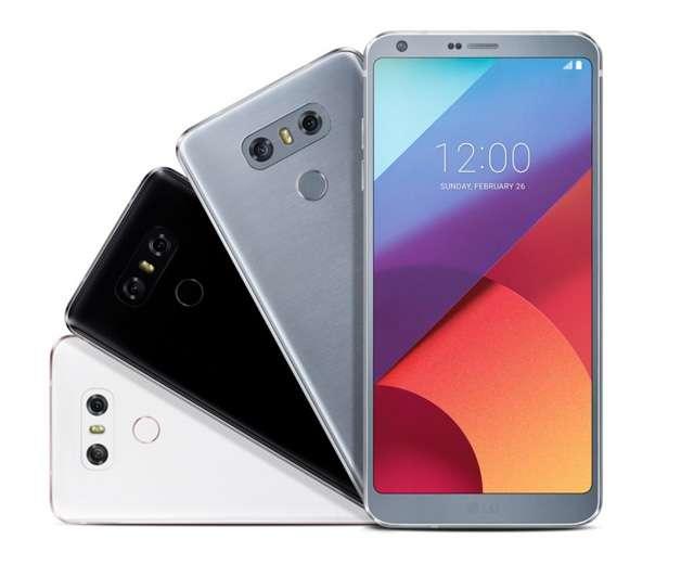 Внешний вид LG G6
