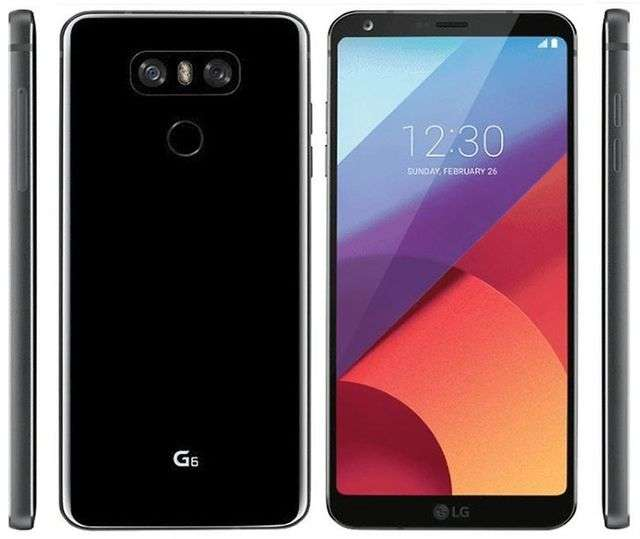 LG G6 со всех ракурсов