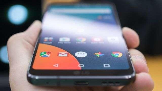 Узкие рамки LG G6