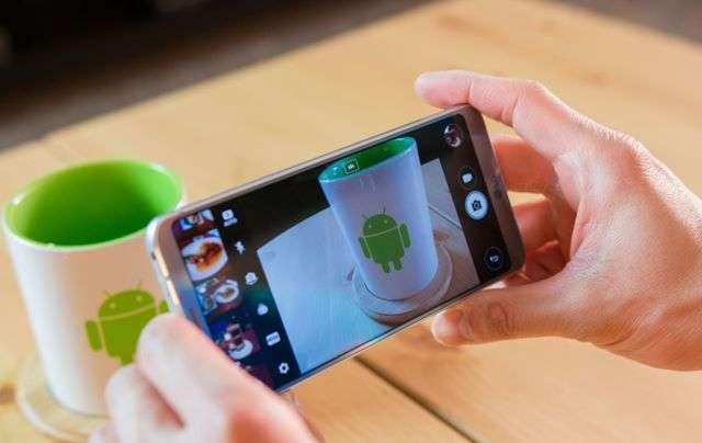 Съемка с LG G6