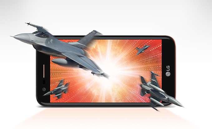LG K10 дисплей