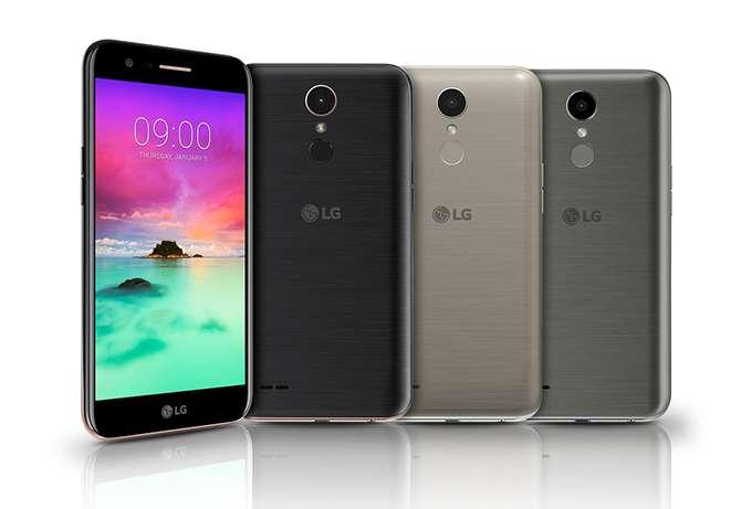 LG K10 цвет
