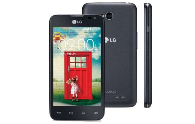 Дизайн LG L65