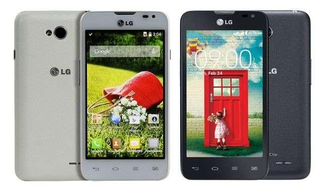 Цветовые решения LG L65