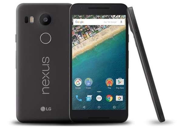 внешний вид LG Nexus 5X