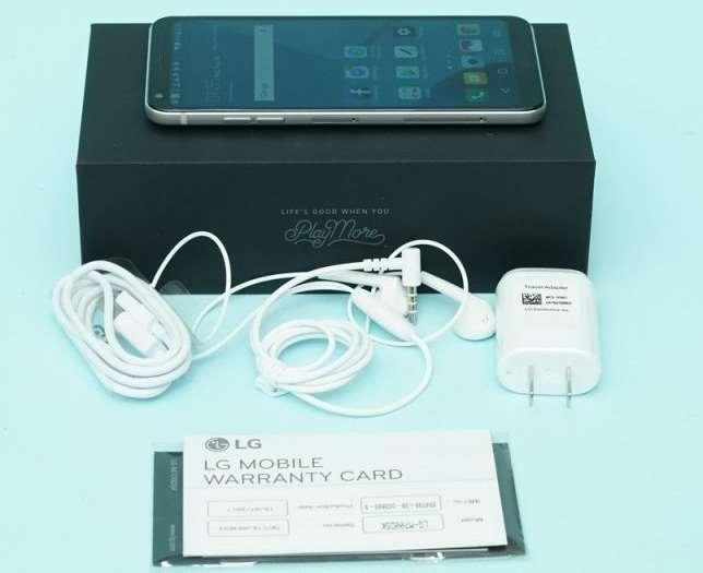 комплектация LG Q6