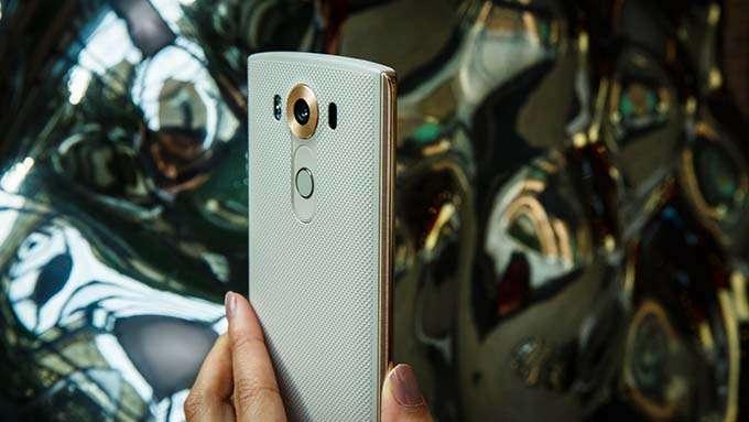 LG V10 Основная камера