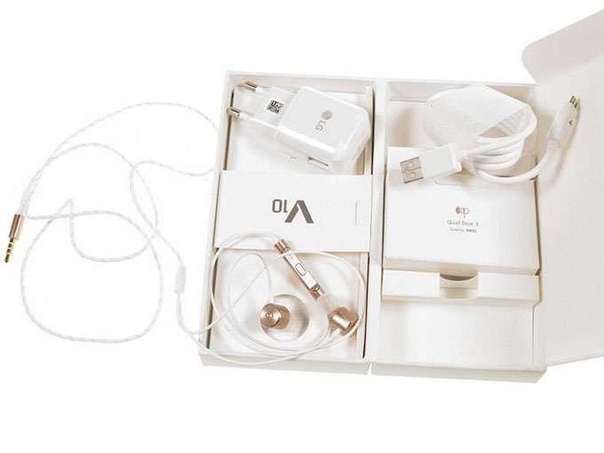 LG V10 комплектация