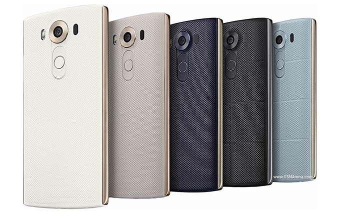 LG V10 цвет