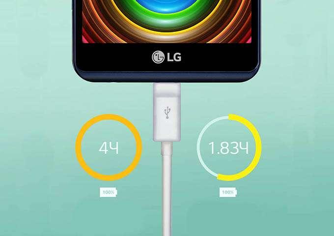 LG X View заряд