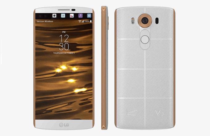 LG V10 дизайн