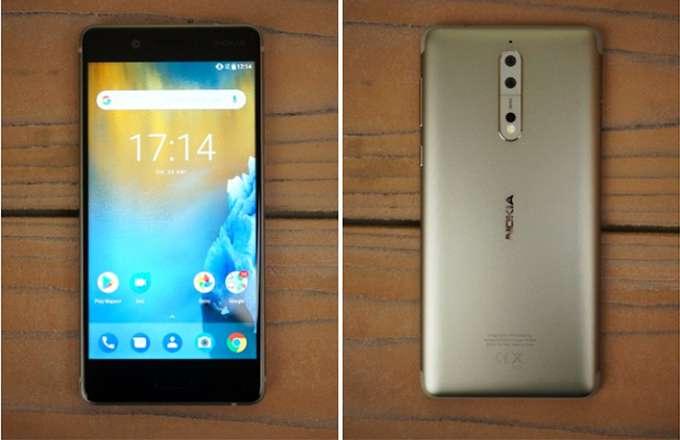 Обзор Nokia 8 серебро