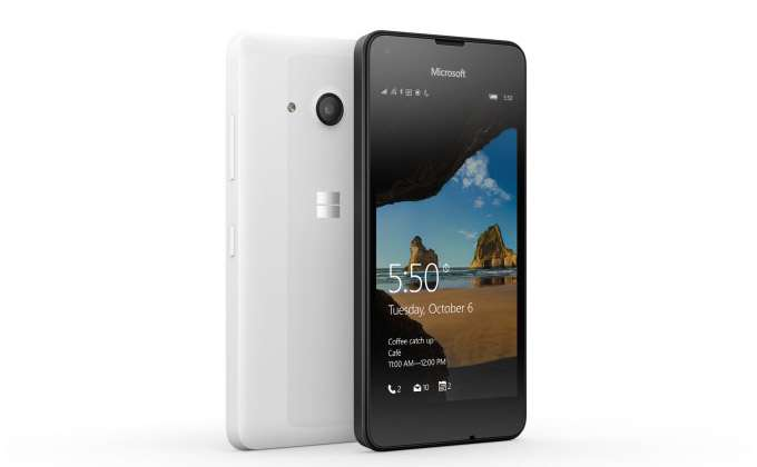 Microsoft Lumia 550 обзор