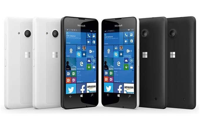 Microsoft Lumia 550 цвет