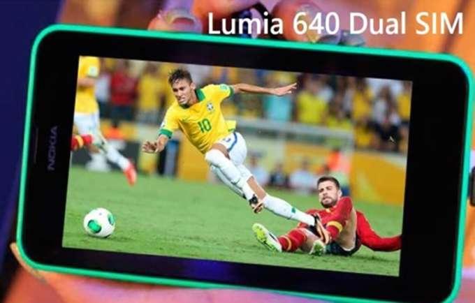 Microsoft Lumia 640 Dual Sim дисплей