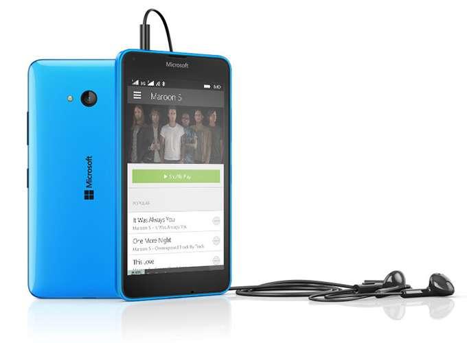 Microsoft Lumia 640 Dual Sim звук