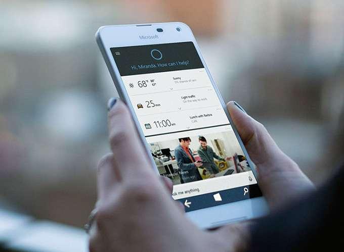 Microsoft Lumia 650 дисплей