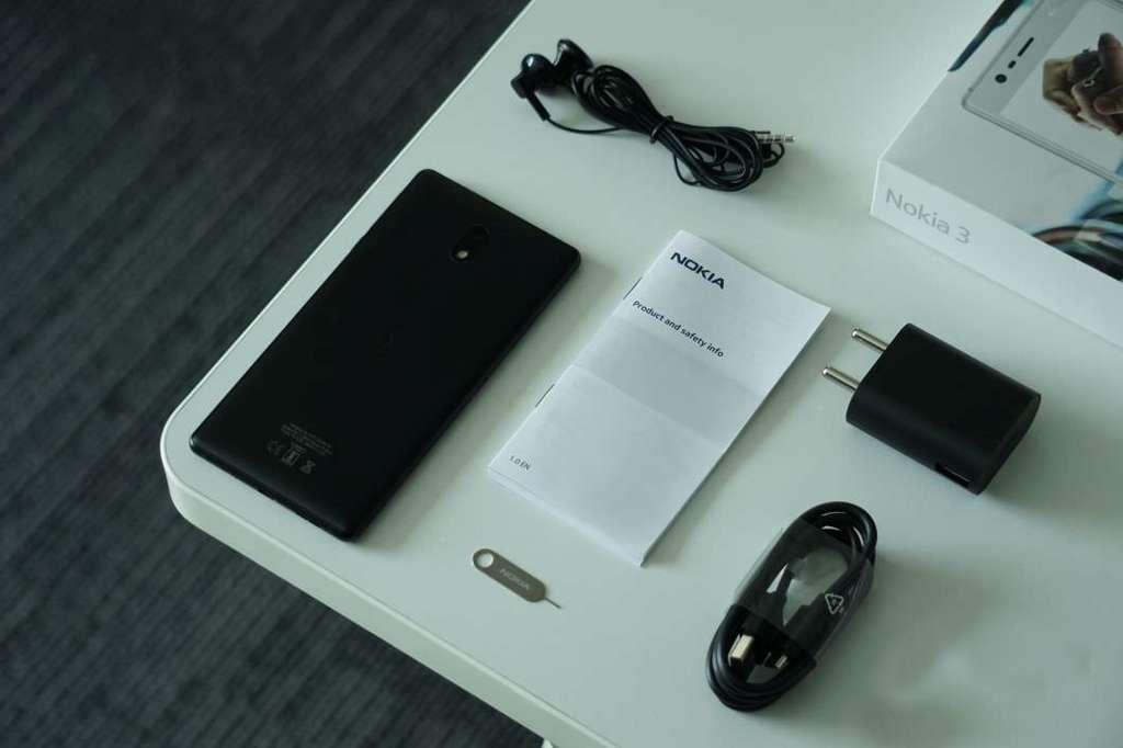 Nokia 3 коробка смартфона