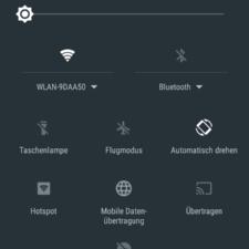 Xperia E5 OS