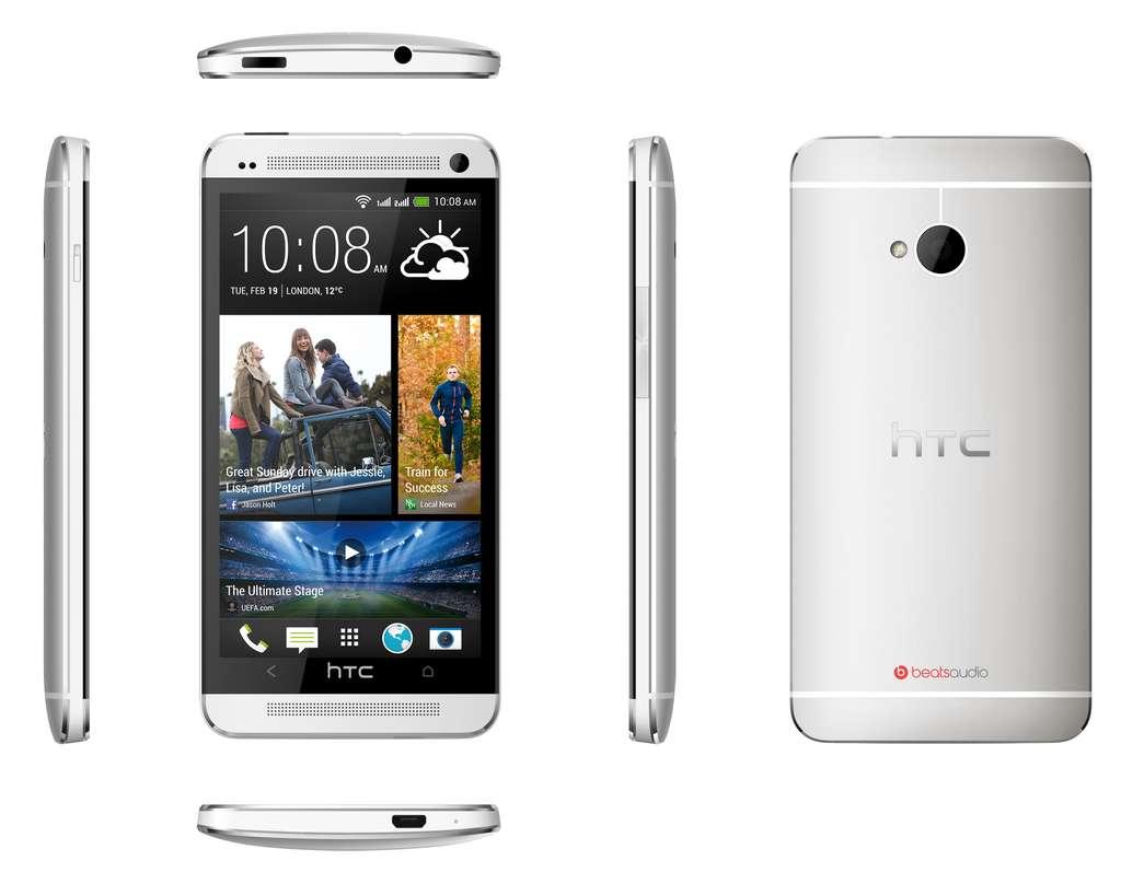 Дизайн HTC One Dual SIM