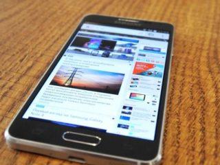 Review des Samsung Galaxy Alpha