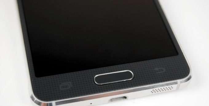 сканер интегрированный в кнопку домой