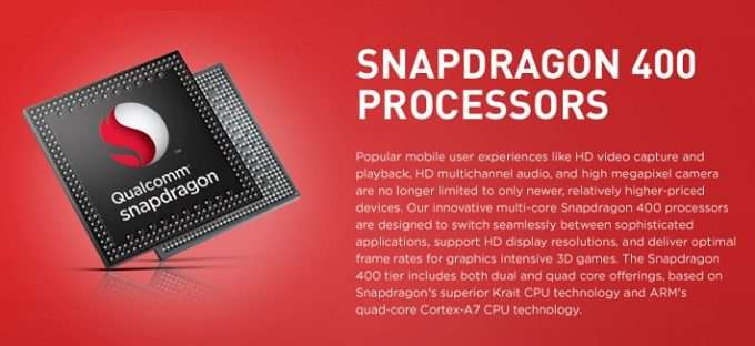 Snapdragon 400 от Qualcomm