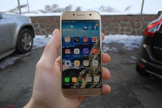 Samsung Galaxy A5 дисплей