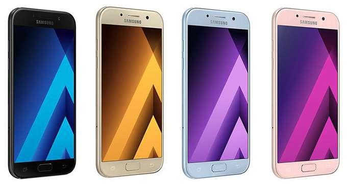 Samsung Galaxy A5 цвет