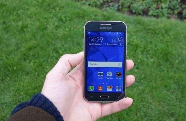 Внешний вид Samsung Galaxy Core
