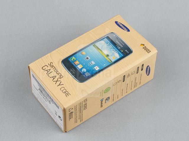 Коробка с Samsung Galaxy Core