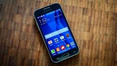 Дизайн Samsung Galaxy Core