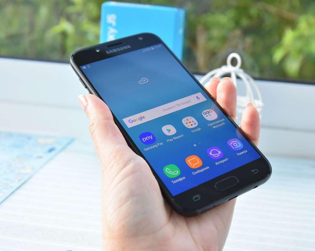 Samsung Galaxy J5 дизайн