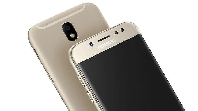 Samsung Galaxy J7 камера