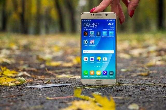 Дисплей Samsung Galaxy Note 5
