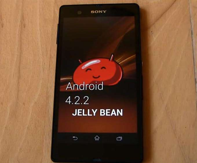 Sony Xperia C Android 4.2.2