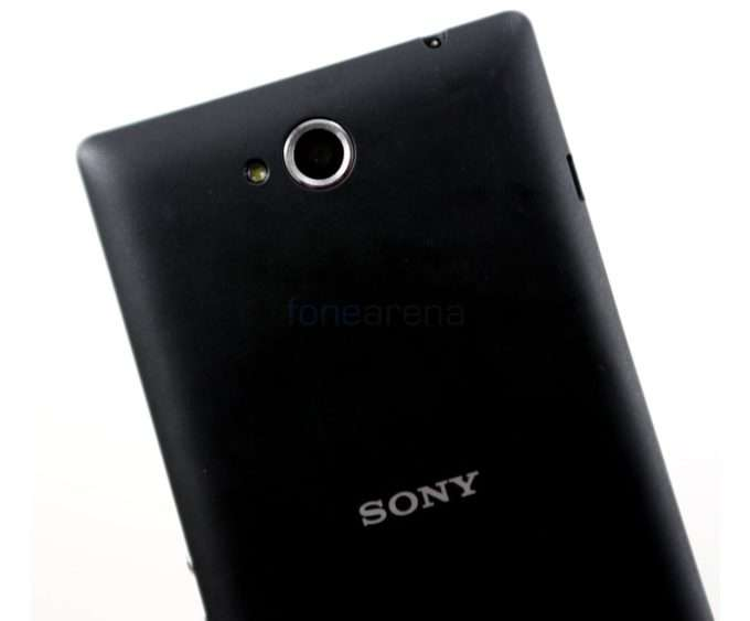 Sony Xperia C камера