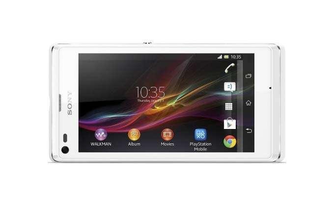 Sony Xperia L дисплей