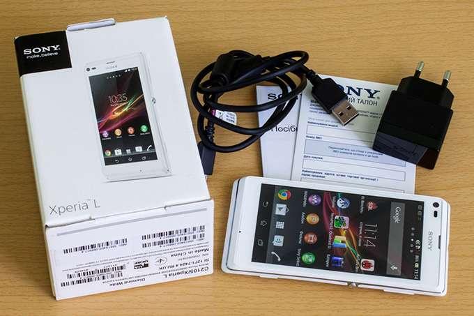 Sony Xperia L комплектация