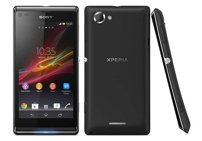 Sony Xperia L обзор
