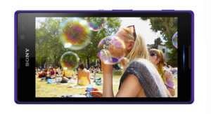 Sony Xperia C дисплей