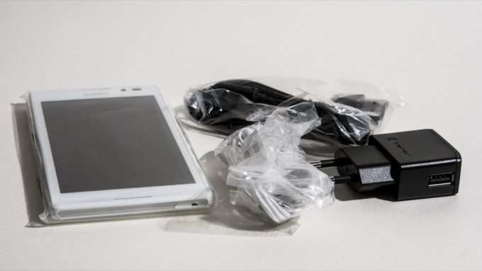Sony Xperia C комплектация