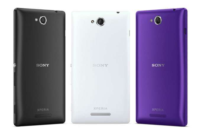 Sony Xperia C цвет