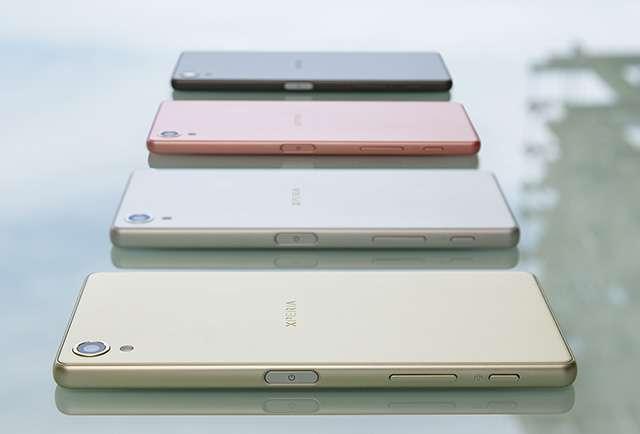 Цвет Sony Xperia X