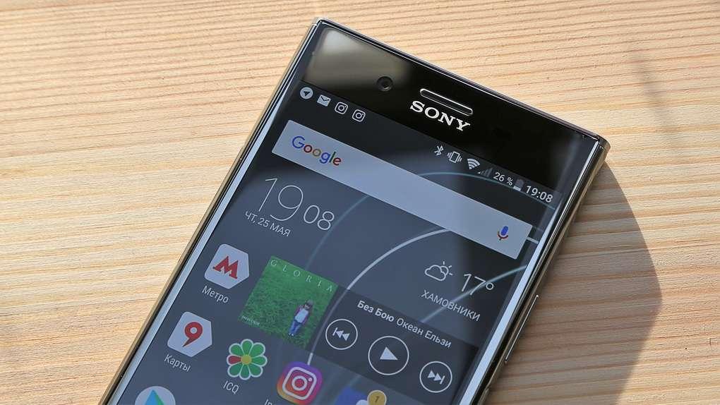 Sony Xperia XZ Premium динамик