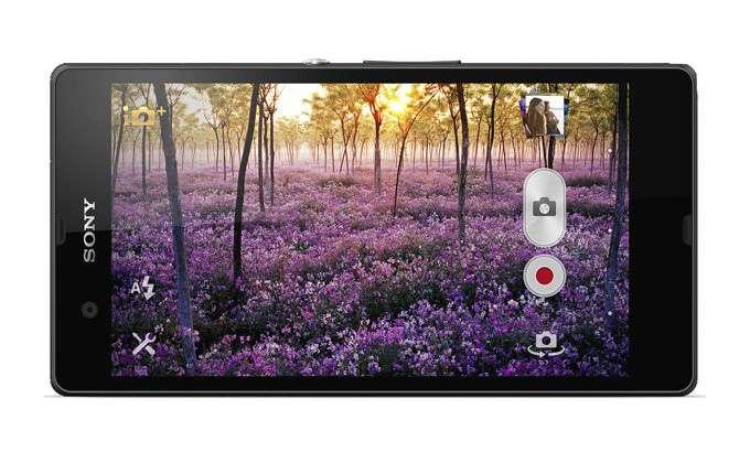 Sony Xperia Z камера