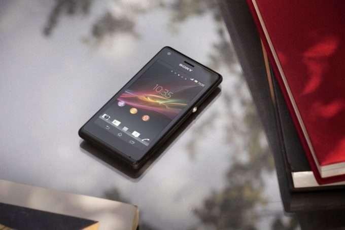 Sony Xperia M дисплей